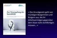 """Stellungnahme der Giordano-Bruno-Stiftung und des Hans-Albert-Instituts zur Neuregelung der Suizidhilfe.  Bild: """"obs/Giordano Bruno Stiftung"""""""