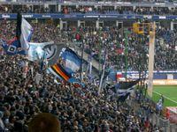 Fans bei Heimspiel vom HSV
