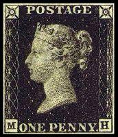 One Penny Black – Die erste Briefmarke der Welt (1840)