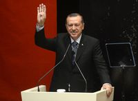 Recep Tayyip Erdoğany Bild: Prachatai, on Flickr CC BY-SA 2.0