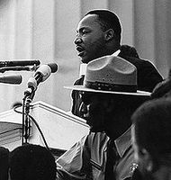 Dr. Martin Luther King Bild: Work of the United States Government