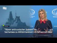 Maria Sacharowa (2021) Bild: RT DE / Eigenes Werk