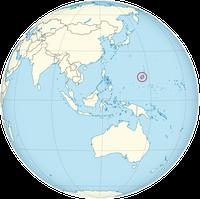 Guam auf der Welt