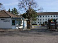 Haupttor der Kaserne in Köln-Porz Bild:  Presse- und Informationszentrum Personal