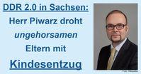 Sachsen: Ungehorsamen Eltern droht jetzt der Kindesentzug