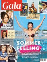 Cover GALA 35/2021 (EVT: 26. August 2021) Bild: GALA, Gruner + Jahr Fotograf: Gruner+Jahr, Gala