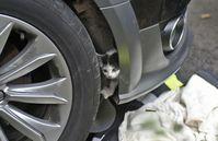 Tiereinsatz, Katze aus Motorraum befreit