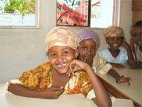 Zwischen Hoffnung und Leid: Kinder im SOS-Kinderdorf Mogadischu. Bild: SOS-Kinderdörfer weltweit
