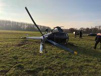 Hubschrauber Bild: Polizei
