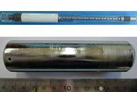 Die Freiburger Forscher züchten im Weltraum unter anderem Germaniumkristalle (Bild unten: auf der Er Quelle: Fotos: Kristallographie Universität Freiburg (idw)