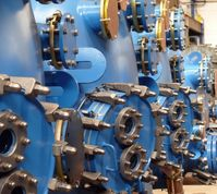 Maschinenbau (Symbolbild)