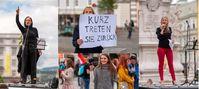 Demonstration in Linz am 15.05.2021 Bild: Wochenblick / Eigenes Werk