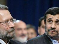 Das historische Bündnis zwischen den religiösen und nationalistischen Strömungen wird durch das Ungleichgewicht zwischen den niedrigen Wahlresultaten von Ali Laridschani und der enormen Popularität von Mahmoud Ahmadinedschad gestört. Die nahen Wahlen im Juni haben die Krise plötzlich an die Öffentlichkeit gebracht. Bild: poltaia.org