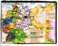 Mitteldeutschland - heute auch umgangssprachlich Ostdeutschland genannt (Symbolbild)