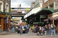 Stoney Street, Borough, wo die Messerattacken stattfanden (2009)