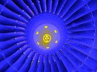 Schaufelräder der Turbine: Einsatz für 3D-Druck.