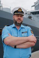 Der scheidende Kommandant, Fregattenkapitän Jan Jansen. Bild: Bundeswehr