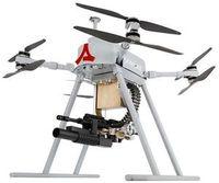 """""""Songar"""" von Asisguard: Drohne hebt mit 200 Schuss ab."""