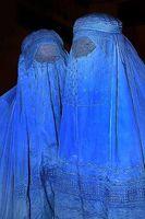Burkaträgerinnen Bild: Steve Evans