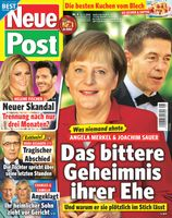 "Cover Neue Post #08/19 Bild: ""obs/Bauer Media Group, Neue Post"""