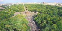 Weit über 1 Million Menschen demonstrierten am 29.08.2020 in Berlin gegen die Maßnahmen der Regierung(en) wegen unnötiger Pandemie-Maßnahmen.