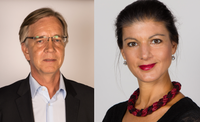 Dietmar Bartsch & Sahra Wagenknecht (2017)