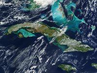 Kuba, Satellitenbild der NASA