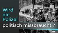 """Bild: Screenshot Video: """"Wird die Polizei politisch missbraucht?"""" (www.kla.tv/19764) / Eigenes Werk"""