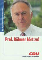 Wolfgang Böhmer (Wahlplakat)