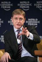 Ferenc Gyurcsány beim Weltwirtschaftsforum in Davos 2007