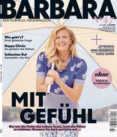 """Cover BARBARA 07/2020 (EVT: 04.06.2020) /  Bild: """"obs/Gruner+Jahr, BARBARA"""""""