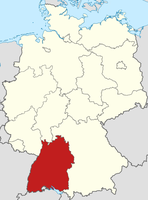 Baden-Württemberg Karte