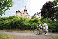 Radtouren im Herzen Deutschlands  Bild: Tourismusregion Coburg.Rennsteig Fotograf: Rainer Brabec