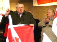 Laumann bei einer Provinzial-Demo in Münster (2012)