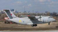 Archivbild: Start des militärischen Transportflugzeugs Iljuschin Il-112, März 2021.