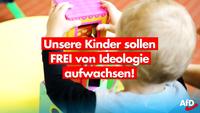 """Schlimm! Im rot-rot-grünen Berlin indoktrinieren linke """"Pädagogen"""" schon Kindergarten-Kinder"""