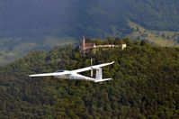 Batterieflugzeug e-Genius Quelle: Foto: Manuel Löhmann (idw)