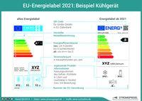 EU-Energielabel 2021: Beispiel Kühlgerät  Bild: co2online gGmbH Fotograf: co2online gGmbH