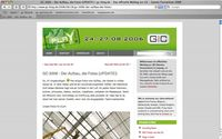 Ansicht des Blog