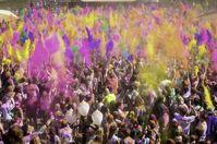 """Holi Festival of Colors""-Veranstaltung (Symbolbild)"