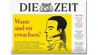 """Cover DIE ZEIT 18/19. Bild: """"obs/DIE ZEIT"""""""