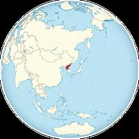 Nordkorea auf der Welt