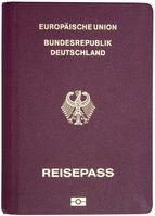 Biometrischer deutscher Reisepass
