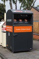 Sammelcontainer der Abfallwirtschaftsbetriebe Köln (Symbolbild)
