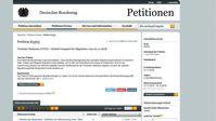 Zufallsgenerator bei Migrationspakt-Petition? Statische Obergrenze der Unterschriften und ein stetig wechselndes Zahlen-Chaos werfen Fragen auf.