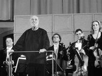 Kurt Masur am Pult der Dresdner Philharmonie, Dezember 2012