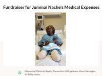 Spendenaktion für die medizinischen Kosten von Jummai Nache