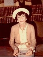 Coco Chanel in 1970
