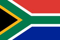 Flagge von Südafrika
