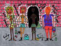 Prostituierte oder Sexarbeiterinnen (Symbolbild)
